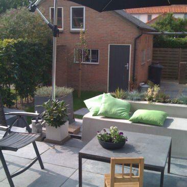 Familietuin in Wijk bij Duurstede